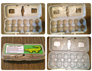 Egg Carton Addition and Subtraction Games