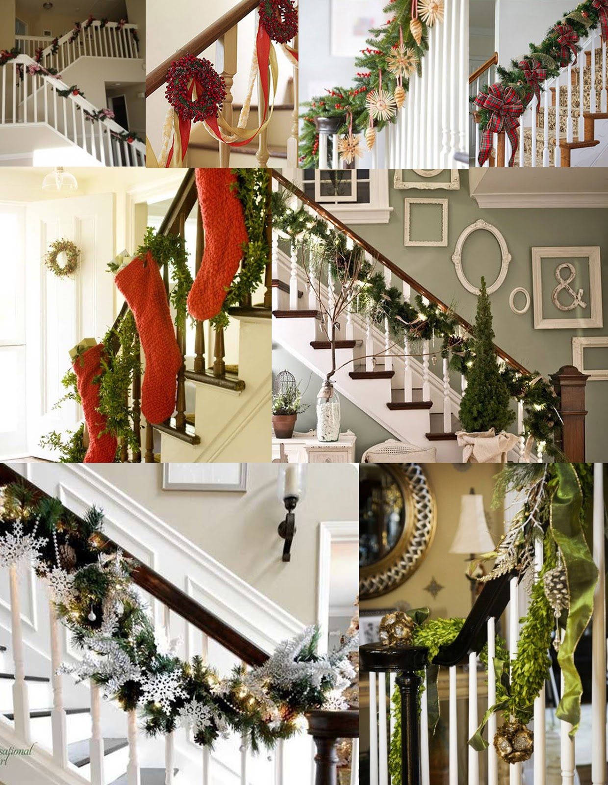 Bridoor s l escaleras de madera decoradas en navidad for Fotos pinterest