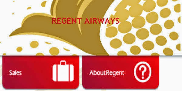Regent Airways Sales Office/Outlets Contact Information
