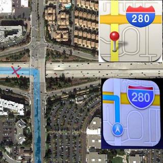 iOS 6 map problem