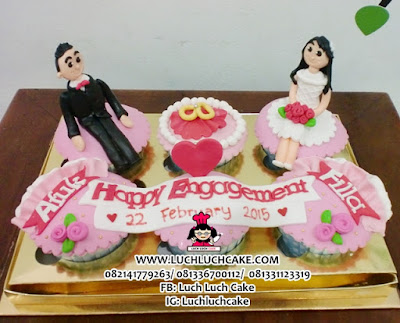Engagement Cupcake Daerah Surabaya - Sidoarjo