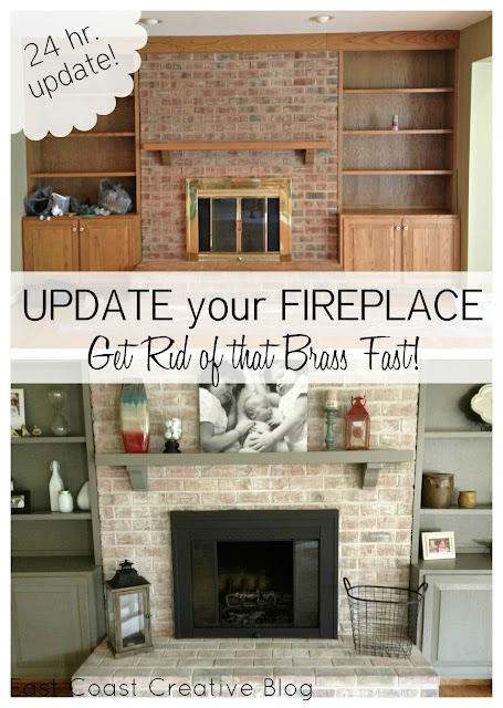 go back gallery for brick fireplace before and after. Black Bedroom Furniture Sets. Home Design Ideas