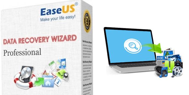 أفضل برنامج لاسترجاع الملفات المحذوفة EASEUS Data Recovery Wizard Professional