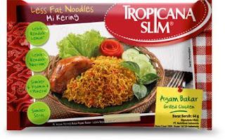 Harga Mie Instan Tropicana Slim Rendah Lemak dan Kalori