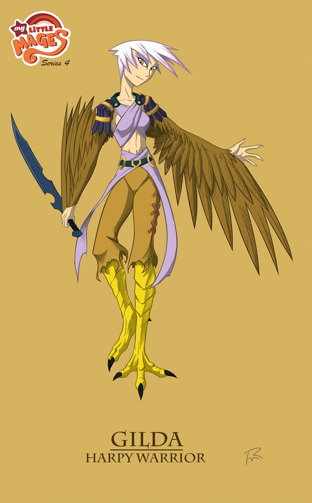 My Little Mages- Gilda the Harpy por Didj