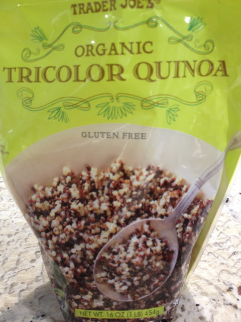 Tricolor quinoa from Trader Joe's