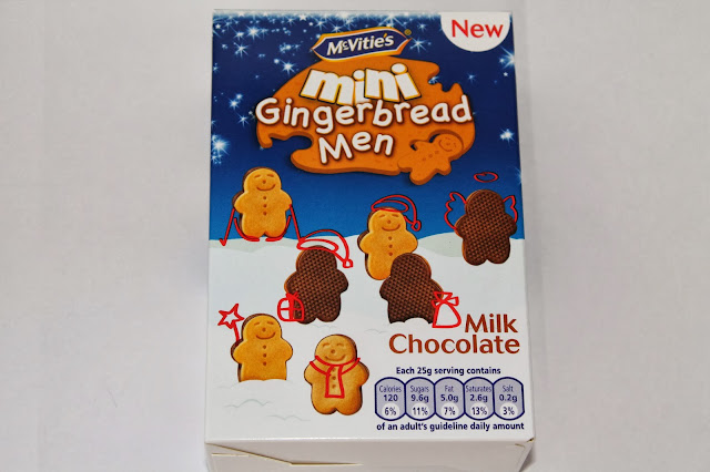 Gingerbread Man Presents Biscuits