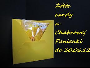 Żółte candy.