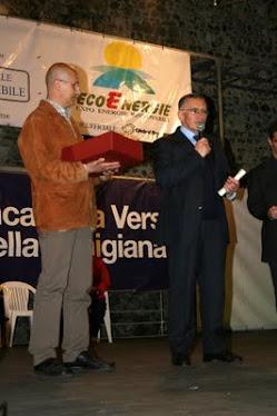 Premio 2008  al Comune di Stella (SV)