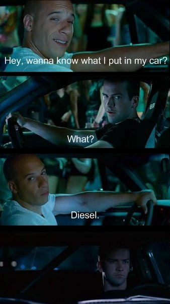 Diesel's Joke