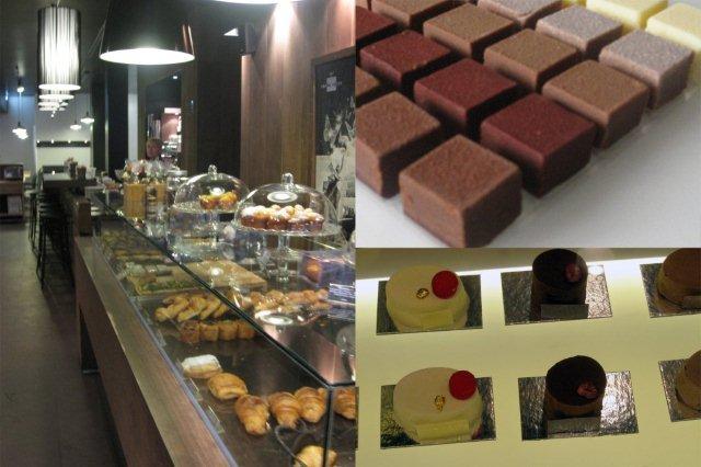 Confiteria Pomme Sucre en Gijon, bombones Encube, tartas individuales