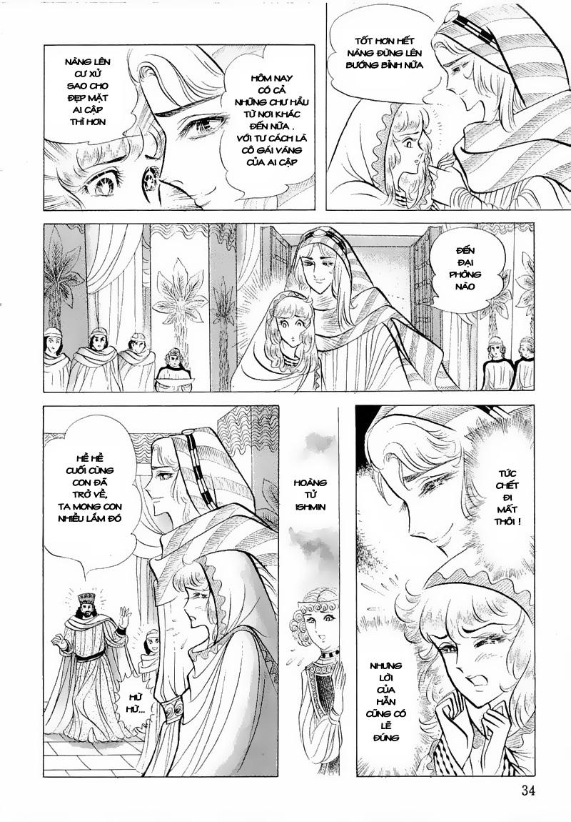 Nữ Hoàng Ai Cập-Ouke no Monshou chap 50 Trang 36 - Mangak.info