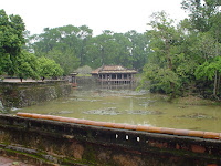 Imperial tomba dell'imperatore Tu Duc in Hue - Vietnam