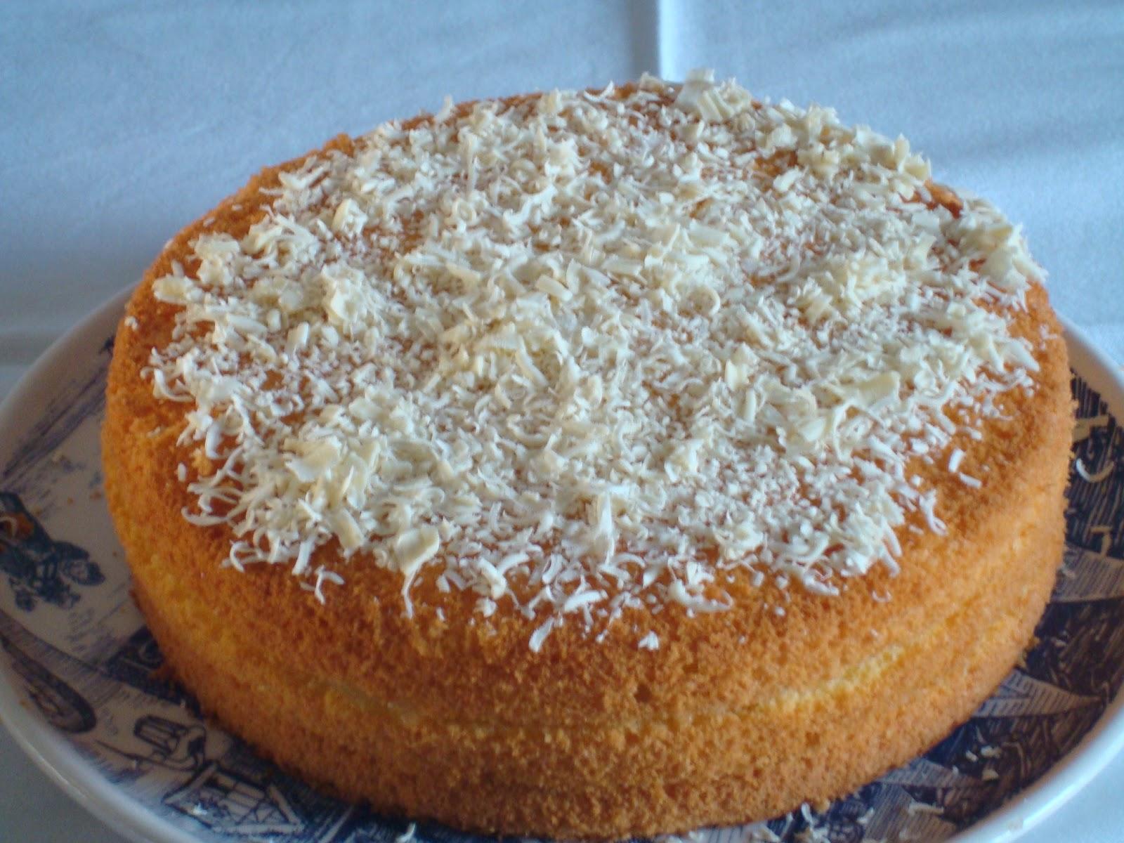Cognate in cucina: Chiffon cake con crema al limone