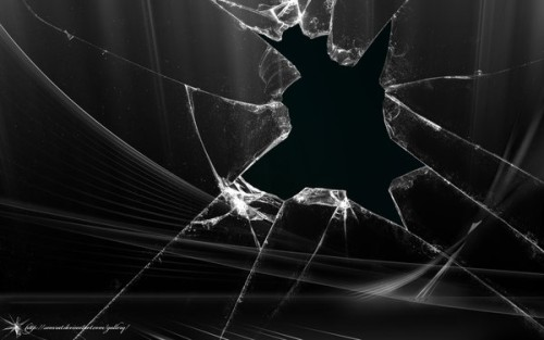 Broken Screen Wallpaper of