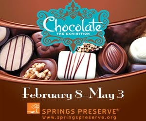 Chocolate- The Exhibition @SpringsPreserve