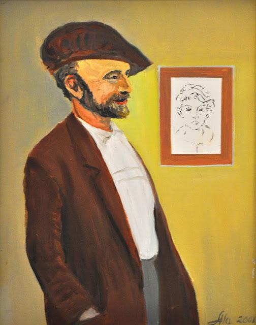 Alina Sala - portret artysty rzeźbiarza Adolfa Tomasika.