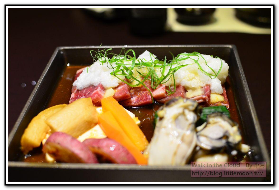 山藥牛肉、廣島牡蠣和風陶板