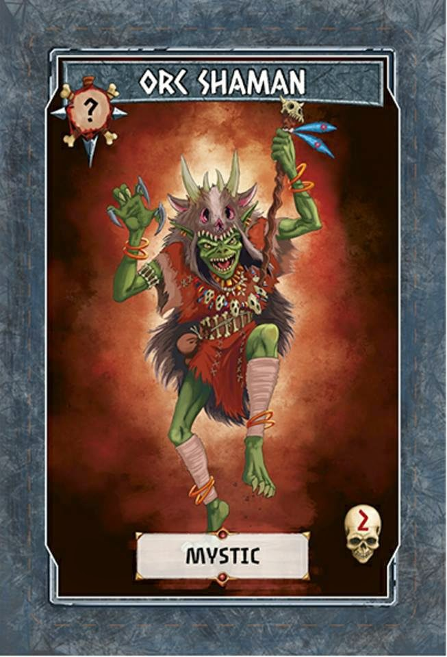 Tinku Card game kickstarter review Orc Shaman