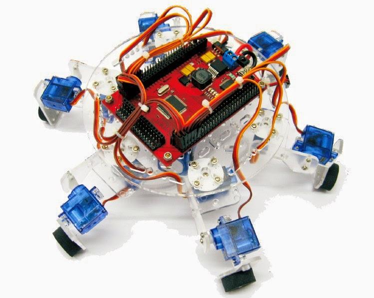 Робот паук на радиоуправлении своими руками 73
