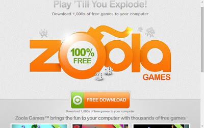 ZoolaGames official site screenshot