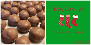 Peanut Butter Balls and 3 Weeks Before Christmas Check List