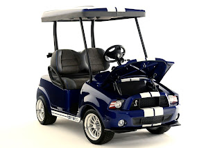 Shelby GT500 Golf Car