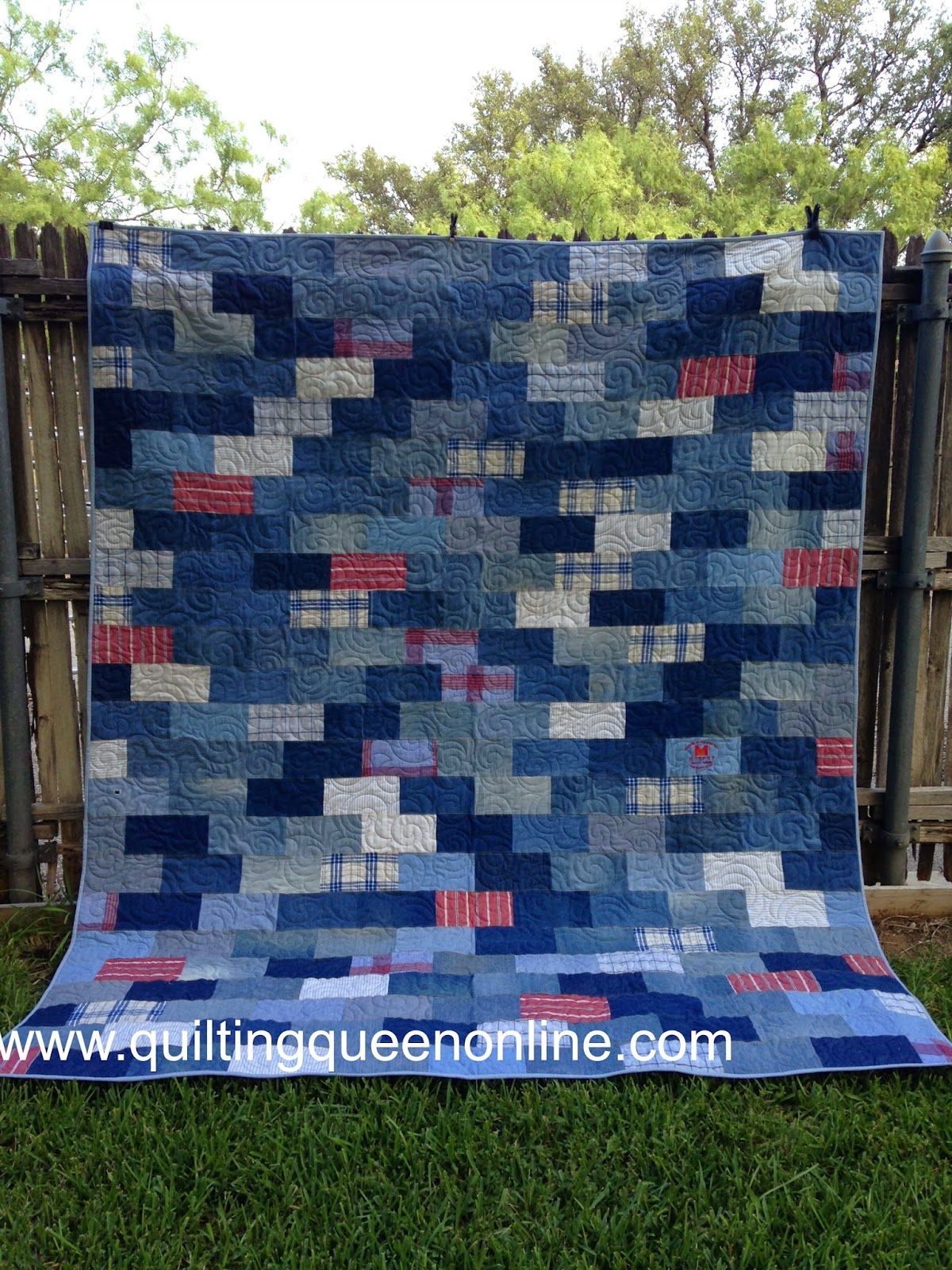 whoo make commissioned right where online quilt blue to at i nancy finished one of now heaven was is the quilting hoo m quilts ahhh denim queen