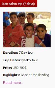 Iran Salam trip