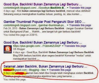 Melaporkan Blogger Copy Paste