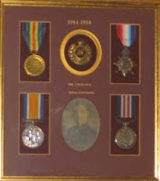 Photo o John Mustell Webster's medals courtesy of Nick Aldham and Elaine White
