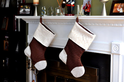 The Rittler Family Stockings - Photo by Taste As You Go