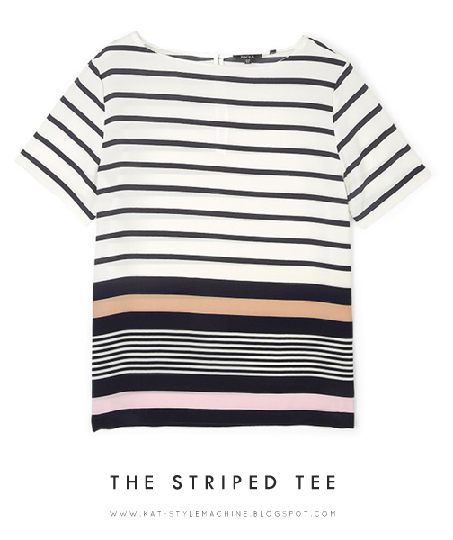 classic striped tee by Raoul
