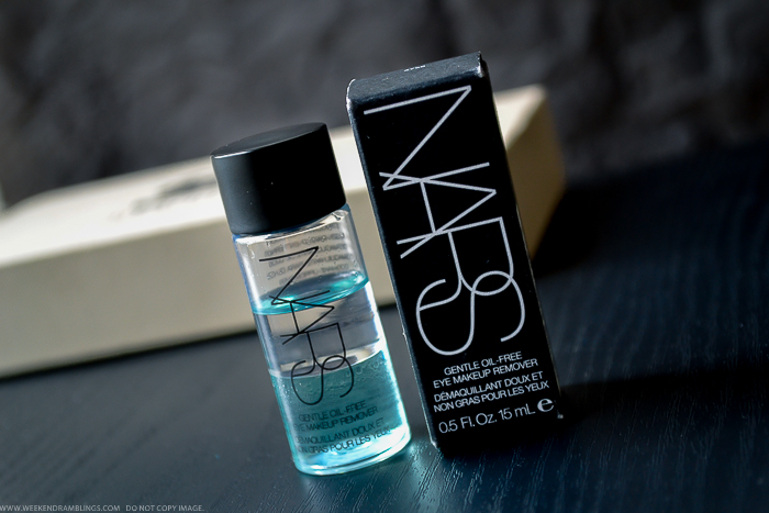 NARS Gentle Oil-Free Eye Makeup Remover - Review