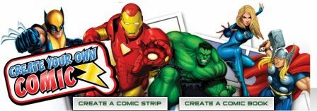 Create Marvel Comic Heroes