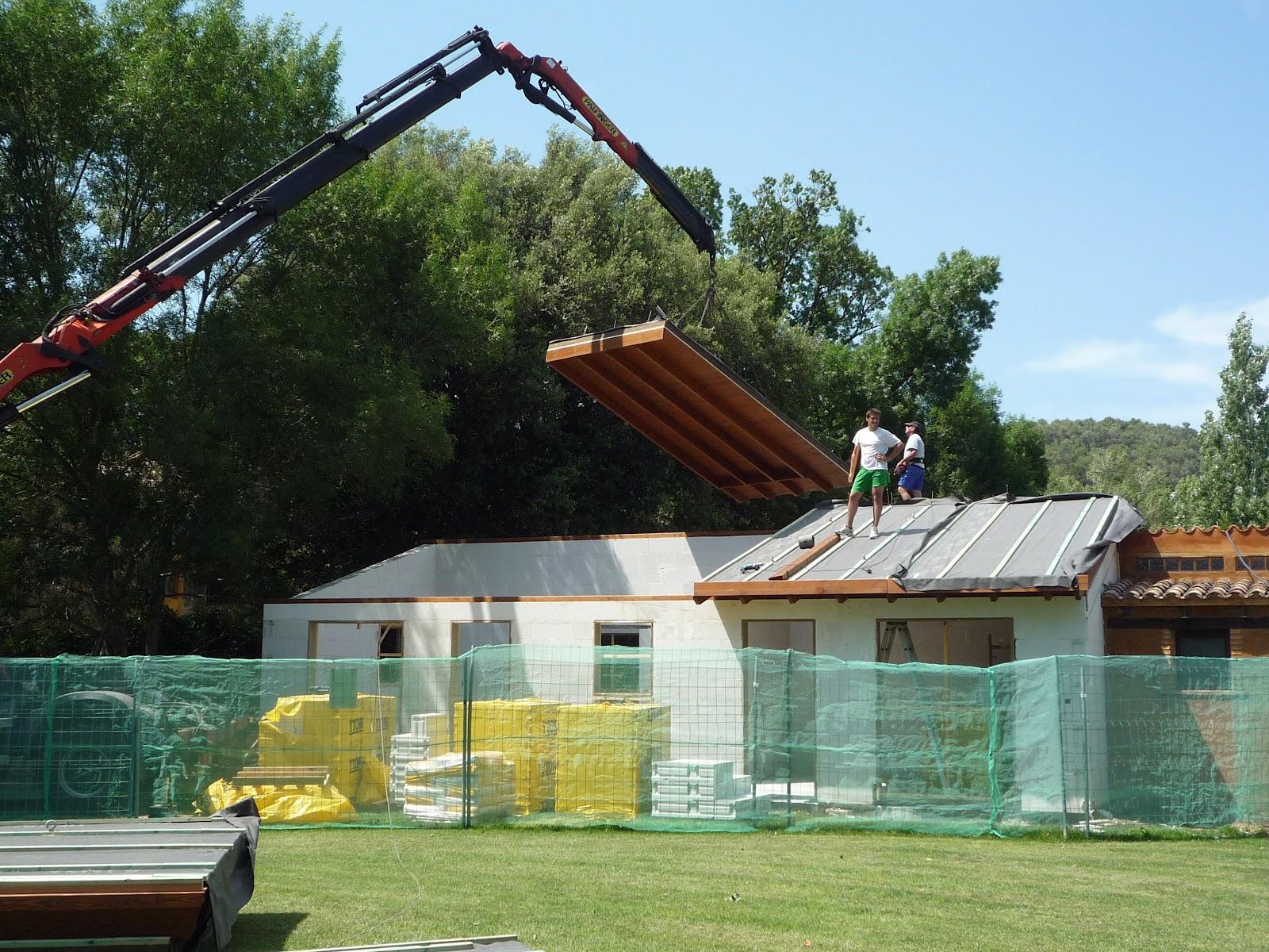 Casas modulares blochouse ampliaci n de casa rural en girona - Casas prefabricadas barcelona ...