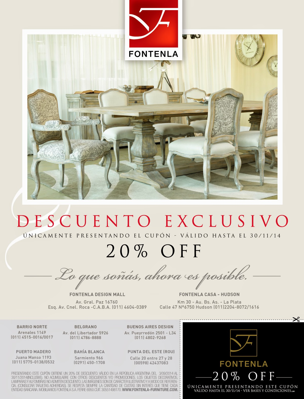 Fontenla furniture for Fontenla muebles