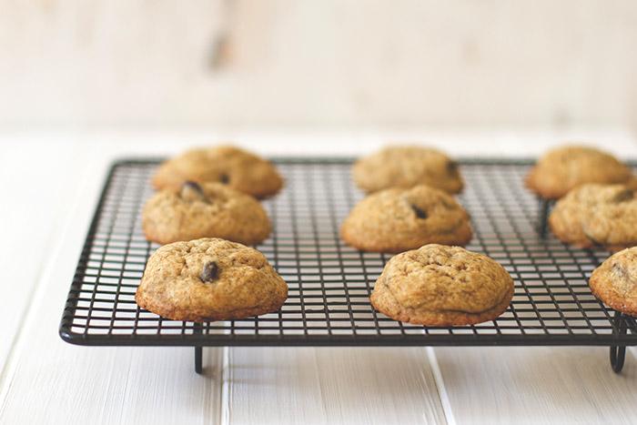 Espresso-Cookies mit Mokkabohnen
