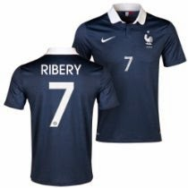 France Home 2014 Jersey Official 19 Nike