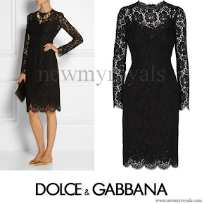 Kate Middleton wore DOLCE & GABBANA Lace dress