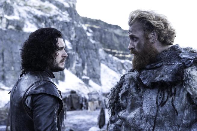 Jon Nieve y Tormund Matagigantes unen fuerzas