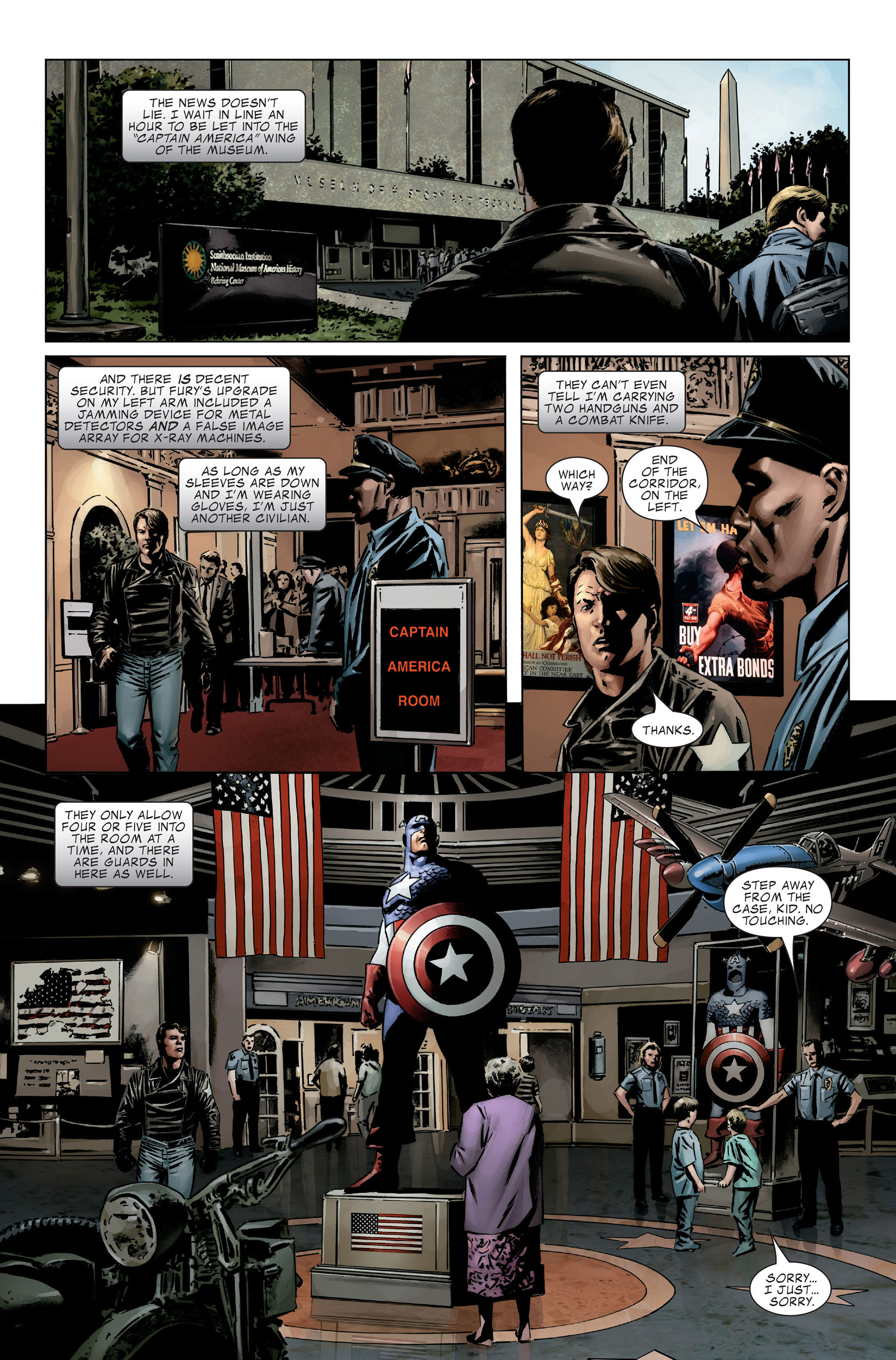 Captain America (2005) Issue #27 #27 - English 4