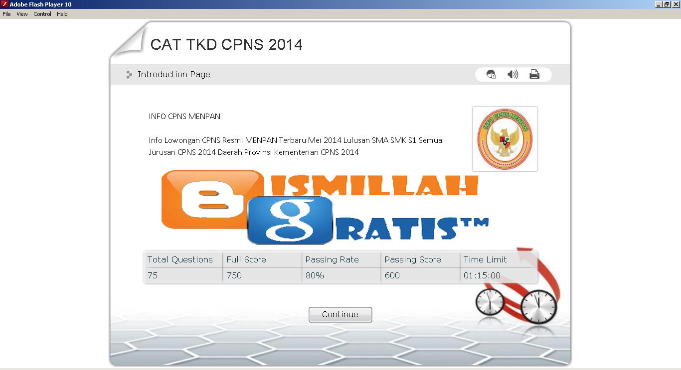 http://bismillah-gratis.blogspot.com/2014/10/BG-software-soal-latihan-cat-tkd-cpns-bulan-desember-2014.html