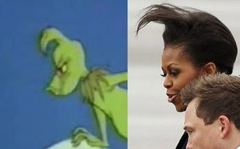 michelle obama the grinch