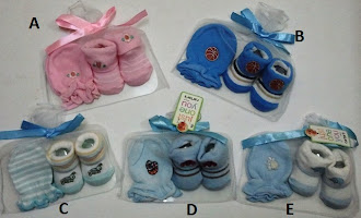 RM10 - Carter's Mittens & Booties Gift Set