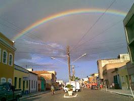 São José do Norte - foto tirado junto ao arco íris