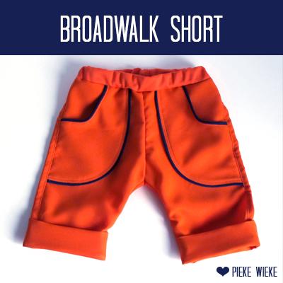 "Broadwalk Short 'Home made minicouture"""