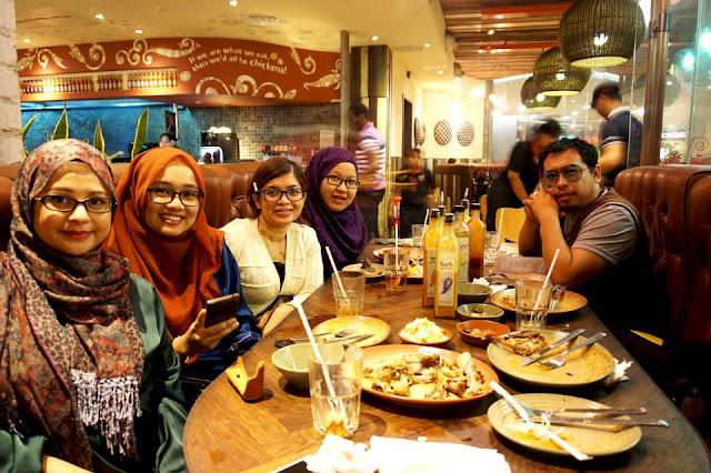 Iftar at Nando's Bersama Rakan Blogger