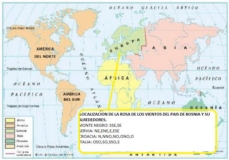 Geografia Y Medio Ambiente: Mapa Politico De America Con La Rosa Delos Vientos At Usa Maps