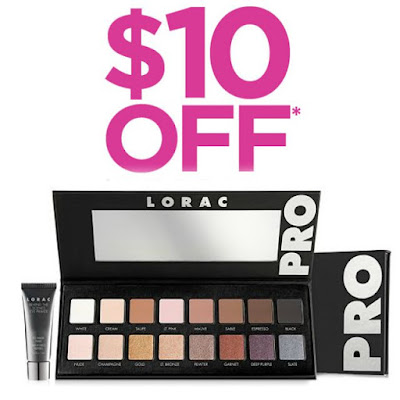 LORAC PRO Eyeshadow Palette with Mini Eye Primer, you can for only $32, By Barbies Beauty Bits